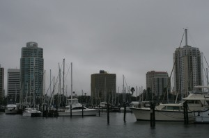 Leaving St Pete in the rain