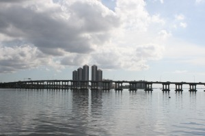 Fort Myers from our mooring