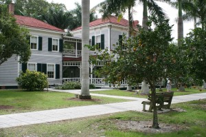 Thomas A. Edison's house on the banks of the Caloosahatchee River, Fort Myers,FL