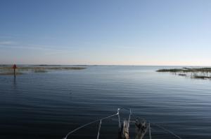 Entering Lake Okeechobee at Clewiston