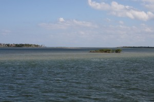 The start of the Atlantic ICW, looking north up Indian River