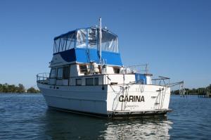 Carina anchored at Wabasso