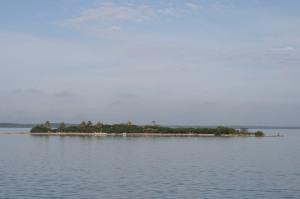 Island in Mosquito Lagoon