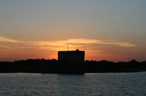 Sunset at Fort Matanzas