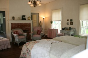 The master bedroom, Edison house