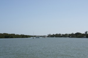 View from the mooring - Captiva Island and Buck Key
