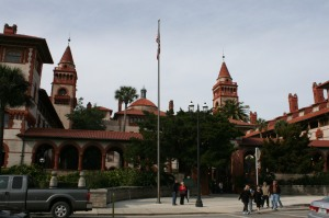 Ponce de Leon Hotel/Flagler College from King Street