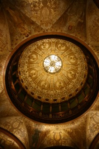 Dome in the dining hall
