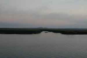 Morning light, Pine Island