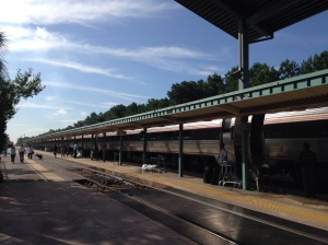The Silver Meteor at Jacksonville Amtrak Station