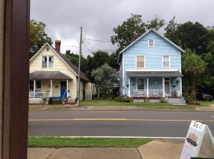 Old houses opposite the Pecan Roll Bakery, Fernandina Beach