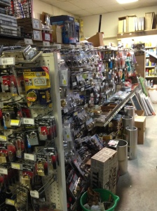 Man shopping heaven, the Amelia Island and Hardware Inc