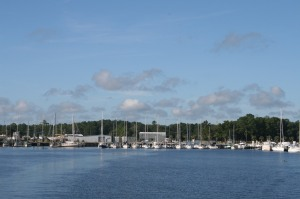 Leaving Green Cove Springs