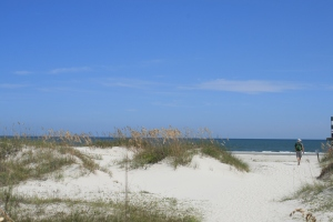 The dunes and the Atlantic