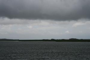 A storm threatens