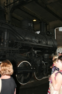 At the Georgia State Railroad Museum
