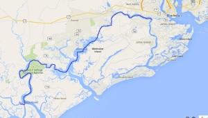 Ashepoo River to Stono River, Charleston