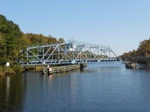 Swing Bridge on Pine Island Cut