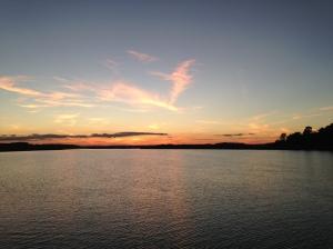 Sunset at Bull Creek