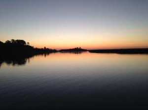 Sunrise at Bull Creek