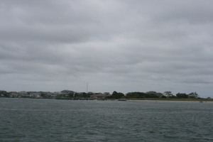 Arriving at Wrightsville Beach in the gloom