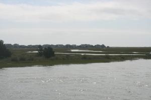 Figure Eight Island, looking towards the ocean