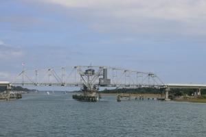 Figure Eight Island Swing Bridge