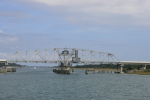 Figure Eight Island Swing Bridge