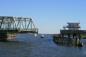 Sears Landing Swing Bridge