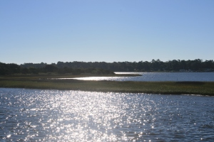 Morning Sunshine on Bogue Sound