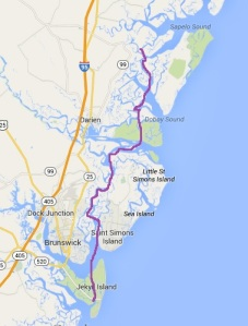 Jekyll Island to Crescent River
