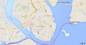 Stono River to Charleston Harbor Marina