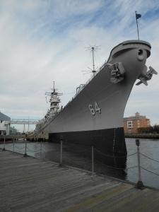 USS Wisconsin at the Nauticus Maritime Museum, Norfolk,VA