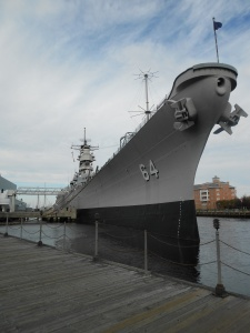 USS Wisconsin at the Nauticus Maritime Museum, Norfolk,VA