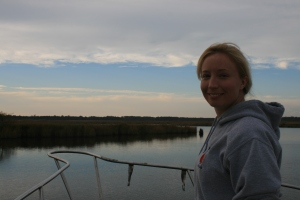 Liz at Pungo Ferry Road