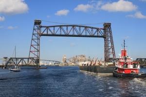 Norfolk and South Railroad Lift Bridge