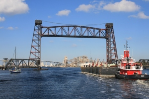 Norfolk and South Railroad Lift Bridge