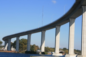 The new South Norfolk Jordan Bridge
