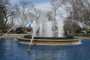 The fountain, Franklin Square