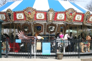 The Carousel in Franklin Square, Philadelphia
