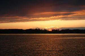 Sunset near Poquoson