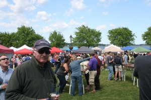 At the Blues Festival, Yorktown