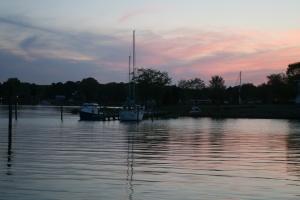 Evening at Jacksons Creek