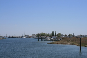 Arriving at Tangier Island