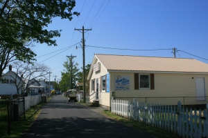 Ice-cream shop, Tangier Island