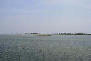 Approaching Ewell, Smith Island