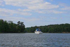 Carina moored at St Leonard Creek, Maryland