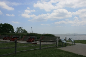 Looking south, Fort McHenry