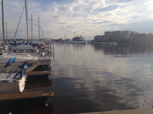 Wiew from Anchorage Marina, Canton, Baltimore