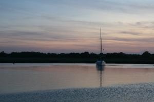Sunset at Miss Chris Marina